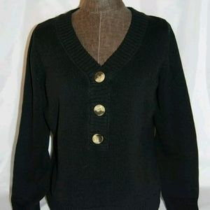 Liz Claiborne Sz XL V-Neck Womens Sweater